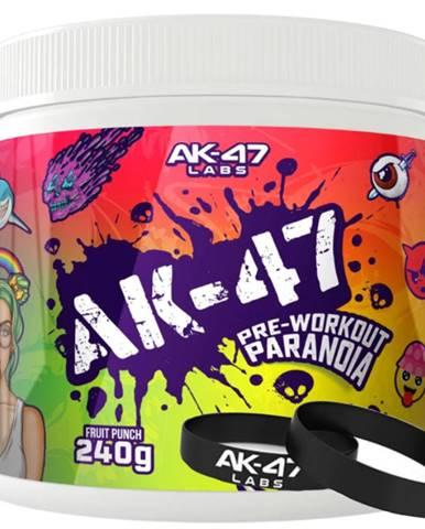 AK47 Labs PRE-WORKOUT Paranoja 240 g variant: citrón - limetka