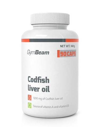 Codfish Liver Oil - GymBeam 90 kaps.