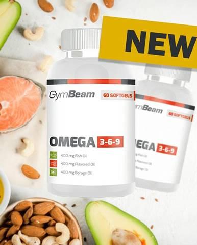 Omega 3-6-9 - GymBeam 120 softgels