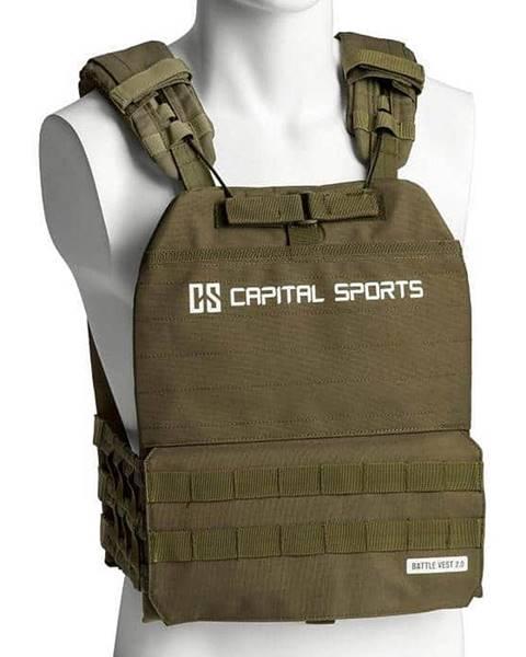 Capital Sports Capital Sports Battlevest 2.0 záťažová vesta 8 kg olivovozelená, Olivovo Zelená