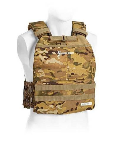 Capital Sports Battlevest 2.0 záťažová vesta, Camouflage