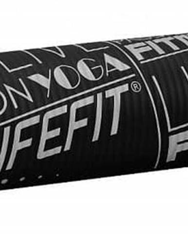 Podložka LIFEFIT YOGA MAT EXKLUZIV , 100x58x1cm, černá