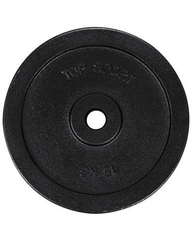 Liatinový kotúč Top Sport Castyr 15 kg