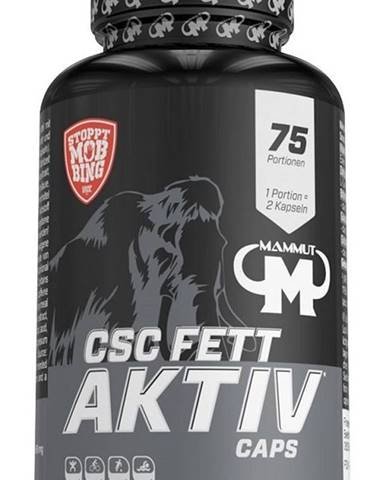 CSC Fett Activ Caps - Mammut Nutrition 150 kaps.