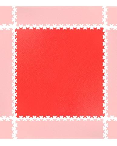 Puzzle záťažová podložka inSPORTline Simple červená