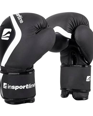 Boxerské rukavice inSPORTline Shormag čierna - 4 oz