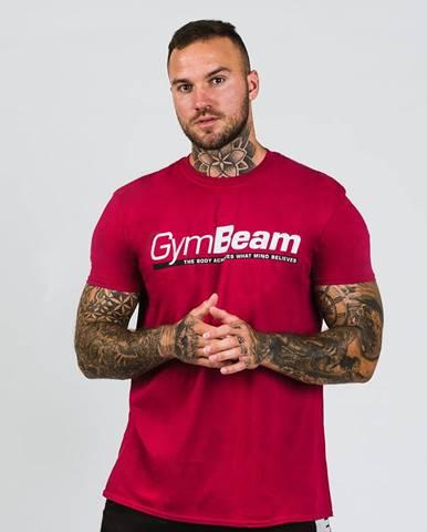 GymBeam Tričko Body and Mind Cardinal Red  XXL