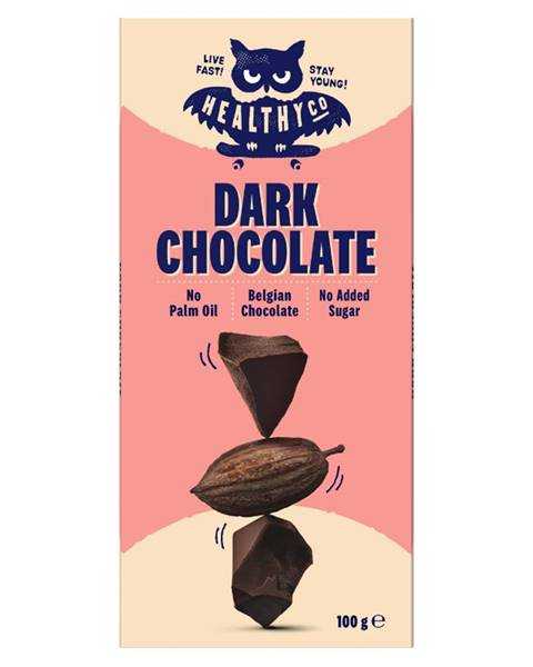 HealthyCo HealthyCo Chocolate 100 g horká čokoláda