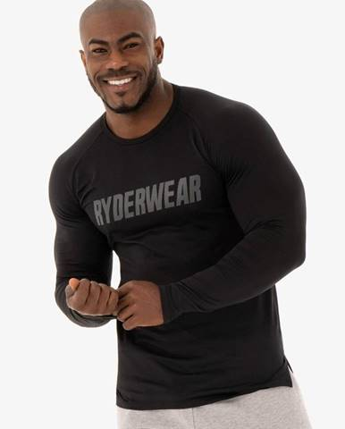Ryderwear Tričko Long Sleeve T-shirt Flex Black  S