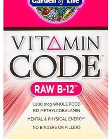 Garden Of Life Vitamín B 12 Raw 30 kapsúl