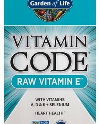 Garden Of Life Vitamín E Raw 60 kapsúl