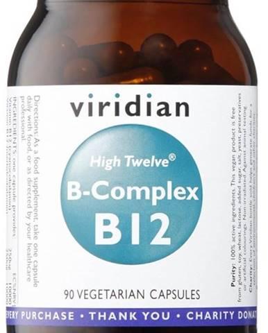 Viridian B-Complex B12 High Twelwe 90 kapsúl