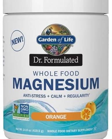 Garden of Life Magnesium Dr. Formulated - Horčík 419,5 g variant: pomaranč