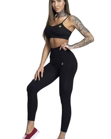 Gym Glamour Legíny bezšvíkové čierne variant: XS