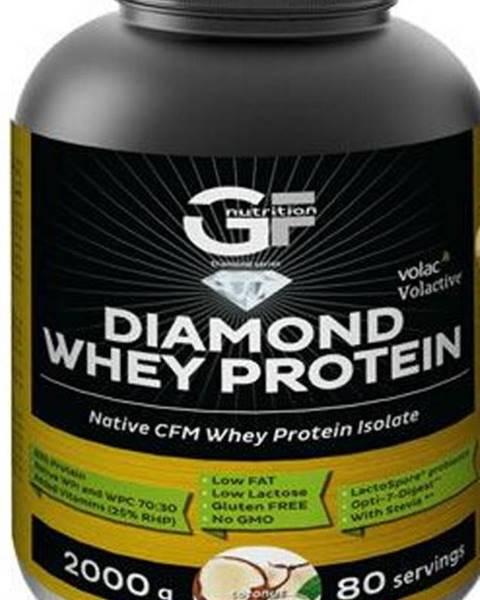 GF Nutrition GF Nutrition Diamond Whey Protein 2000 g variant: čokoláda - nugát