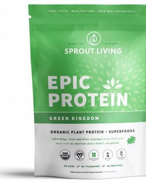 Sprout Living Sprout Living Epic proteín organic Zelené kráľovstvo 455 g