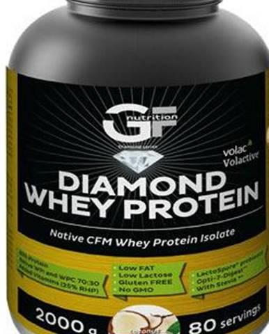 GF Nutrition Diamond Whey Protein 2000 g variant: čokoláda - nugát