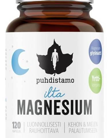 Puhdistamo Night Magnesium (Horčík) 120 kapsúl