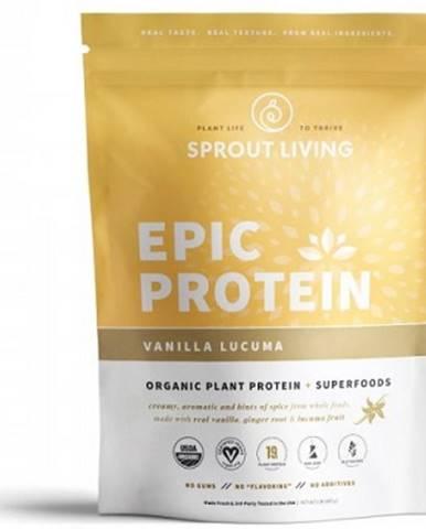 Sprout Living Epic proteín organic Vanilka a Lucuma 455 g