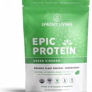Sprout Living Epic proteín organic Zelené kráľovstvo 455 g