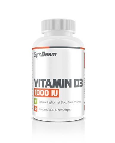GymBeam Vitamín D3 1000 IU 60 kaps.