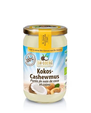 DR. GOERG Premium BIO Orieškové maslo z kokosu a kešu orechov 200 g