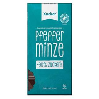 Xucker Vegánska tmavá čokoláda s pepermintom 80 g