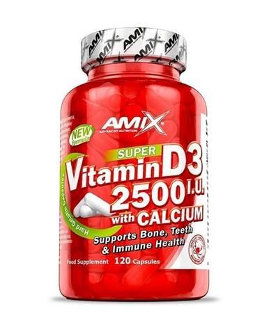 Amix Vitamin D3 2500 I.U. s vápníkem