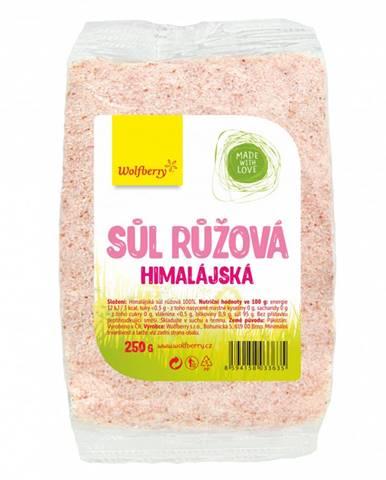 Wolfberry Himalájska soľ ružová 250 g