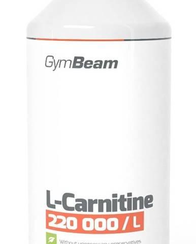 L-Carnitine - GymBeam 1000 ml. Orange
