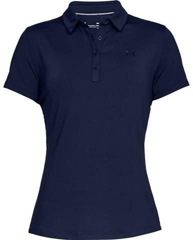 Dámske tričko s golierikom Under Armour Zinger Short Sleeve Polo Academy - S
