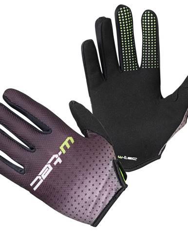 Motokrosové rukavice W-TEC Montmelo čierno-zelená - S