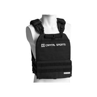 Záťažová vesta Capital Sports Battlevest 2.0 2 x 4 kg - čierna