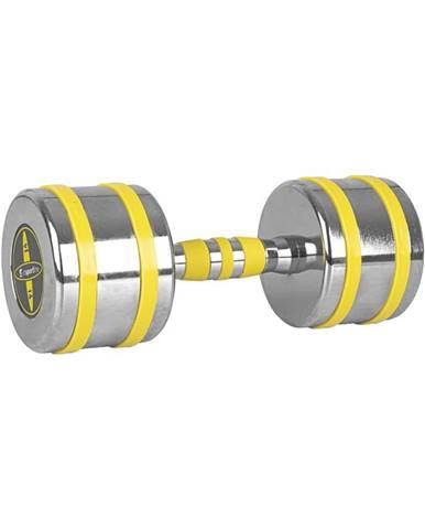 Chrómová činka inSPORTline Yellsteel 14 kg
