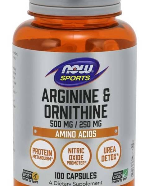NOW Foods NOW Foods Arginine & Ornithine 100 kaps.