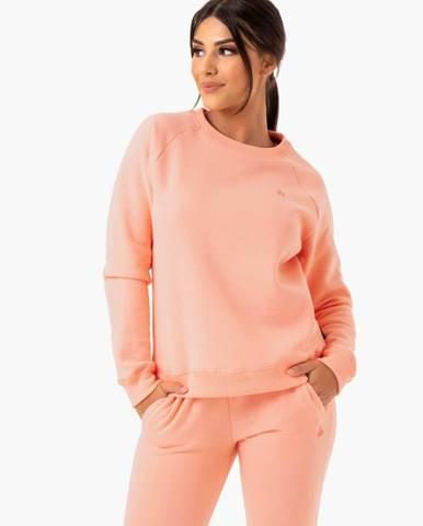 Ryderwear Dámska mikina Adapt Boyfriend Peach  XS