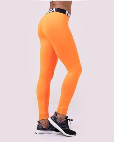 NEBBIA Dámske legíny Squad Hero Scrunch Butt Orange  S