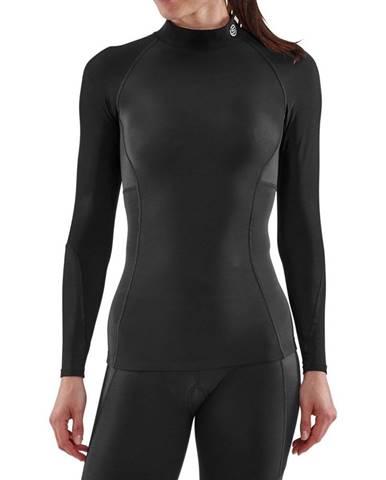SKINS Dámske kompresné tričko Thermal Long Sleeve Series-3 Black  S