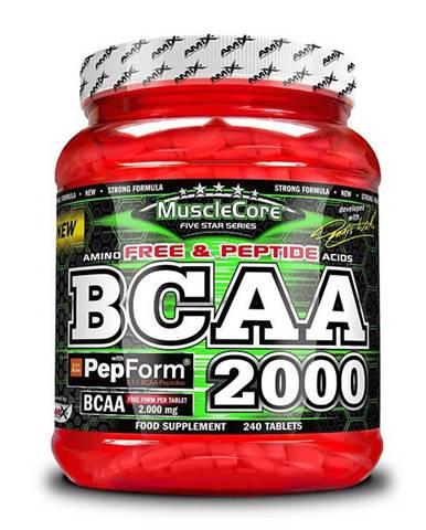 BCAA 2000 + PepForm - Amix 240 tbl.
