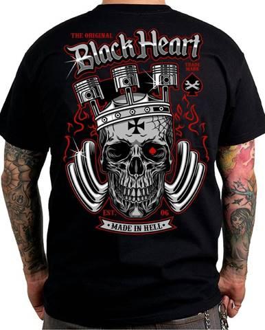 Tričko BLACK HEART King Road čierna - M