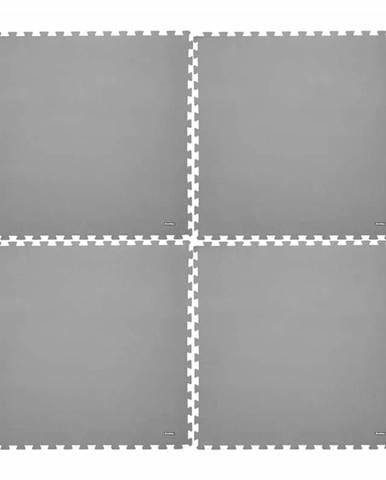 Fitness podložka inSPORTline EVA80 200x200x1 cm Farba šedá