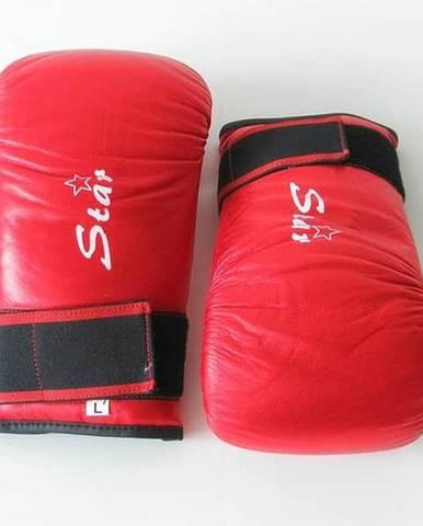 Box. rukavice pytlovky - červená XL