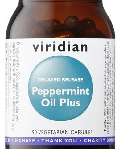 Viridian Peppermint Oil Plus 90 kapsúl