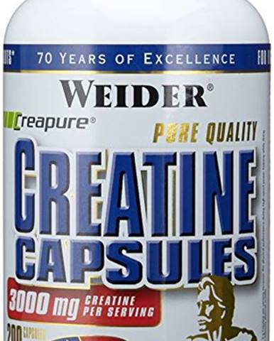 Weider Pure Creatine Capsules 200 kapsúl