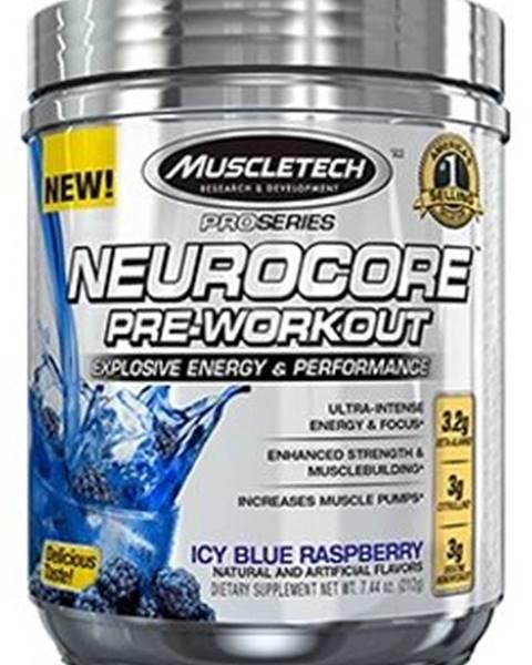 MuscleTech MuscleTech Neurocore Pre-Workout 222 g variant: modrá malina