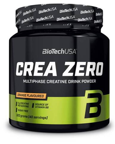 BioTech USA BioTech Crea Zero 320 g variant: pomaranč