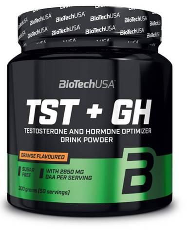 BioTech USA BioTech TST + GH 300 g variant: pomaranč