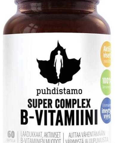 Puhdistamo Super Vitamín B-Complex 60 kapsúl