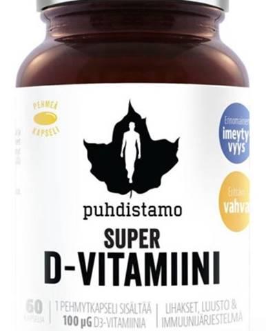 Puhdistamo Super Vitamín D 4000 iu 60 kapsúl