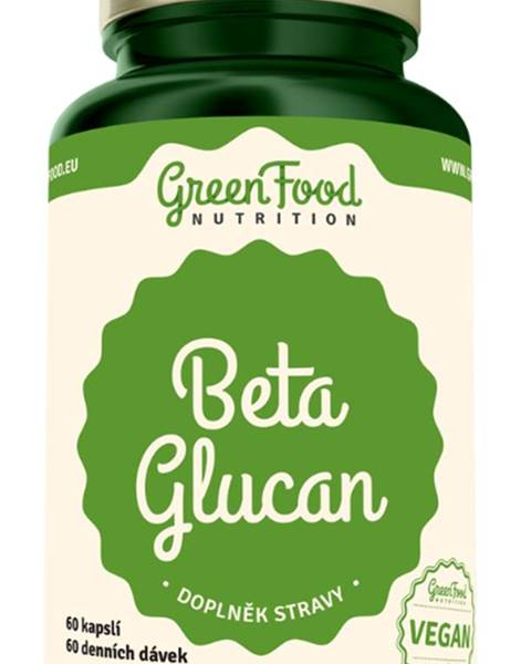 GreenFood GreenFood Beta Glucan 60 kapsúl